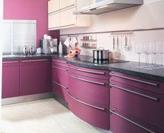 1000 images about aubergine kitchen on pinterest purple for Aubergine kitchen cabinets
