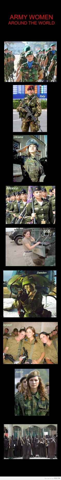 Army Women...Like a BOSS.