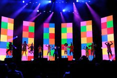 """Macy's returned to Los Angeles on Friday with its 30-year-old """"Passport Presents Glamorama"""" H.I.V./AIDS fund-raiser fashion show. The event took on a """"British Invasion"""" theme that saw dancers shaking their stuff in front of a colorful '60s-inspired backdrop."""