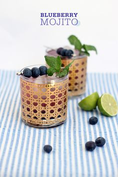 Blueberry Mojito by @Plainview Vintage Bergman / Freutcake