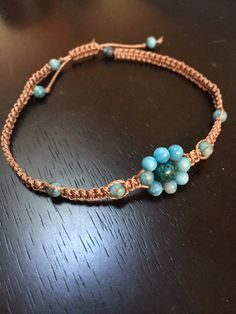 Macrame perline braccialetto