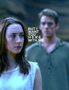 """""""But I want you here with me.""""  Will Wanda stay or will she leave?? Read.  The.  Book."""