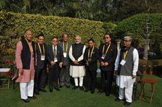 PM meets CMs of Northeastern states ahead of NITI Aayog meeting