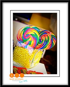 Willy Wonka Party Idea-Centerpiece