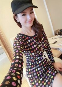 J9669 Tight Hip Slim Dress