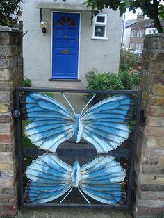 Butterfly gate.