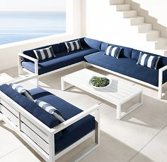 Aegean Aluminum Coffee Table Pallet Garden Furniture, Modern Outdoor Furniture, Living Room Sofa Design, Home Hardware, Diy Patio, Lounge Areas, Dresser As Nightstand, Sofa Set, Home Furnishings