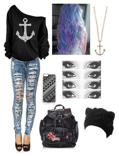 """""""ME"""" by lulu2002 on Polyvore featuring moda, Zero Gravity e Minor Obsessions"""