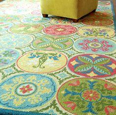 what a fun rug
