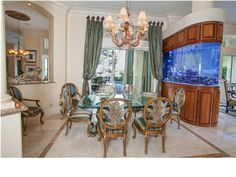 Amazing Dining Area in this Million Dollar Home 4516 Olde Plantation Pl, Destin, FL 32541 Million Dollar Homes, Commercial Real Estate, Luxury Real Estate, Dining Area, Amazing, House, Multi Million Dollar Homes, Home, Haus