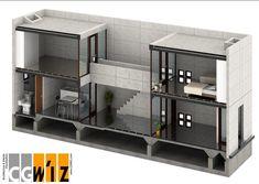 Revit Architecture, Green Architecture, Architecture Models, Tadao Ando, Building Exterior, Building Design, Casa Azuma, Row House Design, Floating House