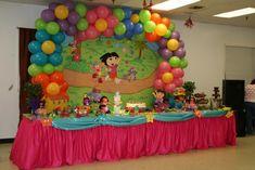 dora theme party - Buscar con Google