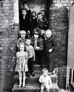 Barry Feinstein. Dylan In the UK. on Dublin St in Liverpool.