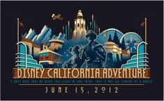 The Disney California Adventure park, located next to Disneyland, re-launched today after a five year, a one billion dollar . Retro Disney, Disney Fun, Vintage Disney, Disney Stuff, Walt Disney, Downtown Disney, Disney Theme, Disney Crafts, Disney Magic