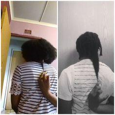 Hair length check on natural hair, armpit length hair, hair goals Relaxed Hair, Armpit Length Hair, Hair Journey, Hair Lengths, Hair Goals, Natural Hair Styles, Check, Women, Fashion