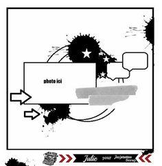 Jas'piration Scrap: Votre galerie - Sketchs et imprimables