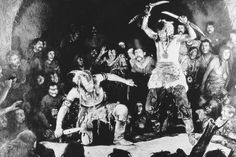 "Rudolf Klein-Rogge, George John in ""Die Nibelungen: Kriemhilds Rache (Kriemhild's Revenge)"", directed by Fritz Lang, 1924"