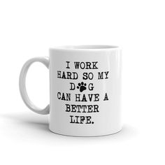 309fb7ade4177 11 Best Dog Coffee Mugs images in 2018 | Ceramic Mugs, Coffee Cups ...