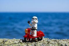 Happy Star Wars Day! #starwarsday #lego #vespa