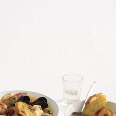 bouillabaisse, simplified. French fisherman's stew (Cookie Mag 3.08)