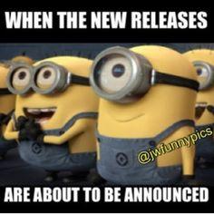 i would like to have some Minions!many minions! Amor Minions, Cute Minions, Happy Minions, Minions Quotes, Funny Minion, Elijah Wood, Minions Despicable Me, My Minion, Minions 2014