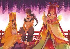 Magi: The Labyrinth of Magic// Ren Kougyoku, Ka Koubun and Judal