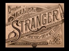 I've been studying the detailing in this lovely piece of work from Stranger and Stranger. Crikey its good!