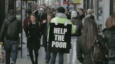Fuck the Poor | Advertising for Humanitarian Aid Inspiration | Award-winning creative social good campaigns | Homelessness awareness charity | D&AD Impact
