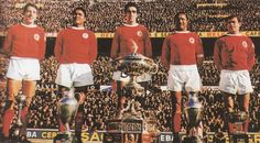 José Augusto Pinto, #Eusébio, José Torres, Mário Coluna and António Simões #Benfica #SLB #Portugal.