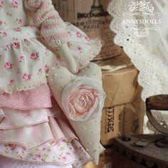 Сердце Эстель. #рукоделие #куклыручнойработы #кукла #тильда #tilda #boho #annysdolls