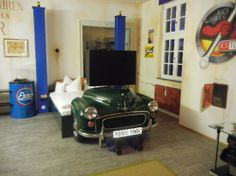 V8 Hotel Motorworld Region Stuttgart: Theme Room Bed - V8 Hotel