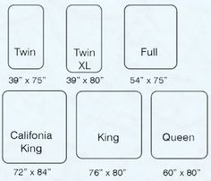 mattress size chart good place to start your project is with a bed size chart projects. Black Bedroom Furniture Sets. Home Design Ideas