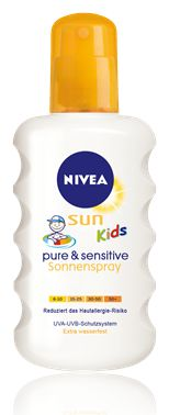 Testsieger Kids Pure Sensitive Sun Spray