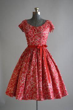 Vintage 1950s Dress / Jerry Gilden / by TuesdayRoseVintage