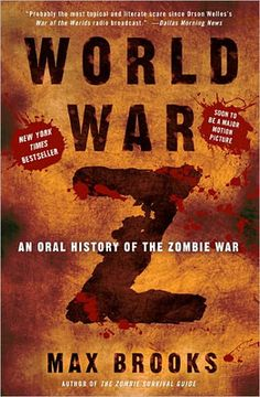 A fun book told in a series of interviews 12 years after the war with Zombies  ended.