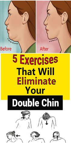There isn't a woman in this world that doesn't hate her double chin. Double chin can happen to anyone, no matter your body shape. Even the naturally slim ones can end up with this annoying problem. Fitness Workouts, Fitness Motivation, Fitness Tips, Health Fitness, Double Chin Exercises, Neck Exercises, Facial Exercises, Double Menton, Mental Training