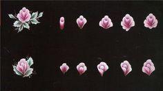 Тренировочные карты для росписи ногтей ()