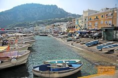 Capri, an island in Italy's Gulf of Naples
