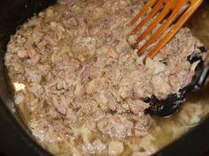 Rillettes (rijet) - tradiční francouzská pochoutka Grains, Pork, Rice, Meat, Kale Stir Fry, Seeds, Pork Chops, Laughter, Jim Rice