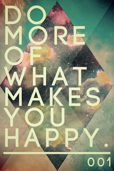 This is one of our goals for the New Year……fortunately The Dailey Method makes us happy.  What do you want to do more of in 2013?