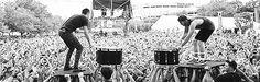 Tyler Joseph and Josh Dunn | ... band gif Twenty One Pilots Tyler Joseph Josh Dun marriedtothemosh
