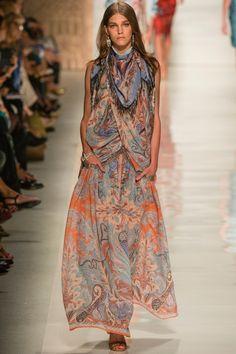 Etro #etnic #trendy #tribal #bohemio #dress