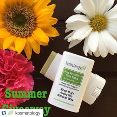 Last chance to enter!! #Repost @kosmatology  In an effort to get in a summer  mood (considering it's 50 degrees outside currently) I am giving away a bug repellent balm to 5 lucky followers!  TO ENTER: 1. Follow @kosmatology 2. Tag 3 friends (Please do not tag the friends that tagged you. They already know about the giveaway!) 3. For an extra entry: Regram with the hashtag #kosmatologycomeonsummergiveaway  Contest ends on Friday May 6th at midnight. Winners  announced Saturday. Good Luck…