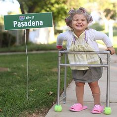"""Yesterday, I met the cutest """"Little old lady from Pasadena""""   (Go, Granny, go…"""