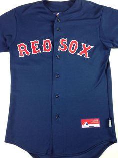 20.90 New Boston Red Sox Jersey Adult SZ S 34 David Ortiz Big Papi Majestic  Cool Base ... dd5ca5835f8