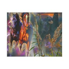 Decorate your walls with Western canvas prints from Zazzle! Choose from thousands of great wrapped canvas to beautify your home or office. Canvas Art Prints, Wrapped Canvas, Westerns, Horses, Poster, Painting, Painting Art, Paintings, Painted Canvas