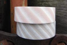Tan Grey and Peachy Pink MT Japanese Washi Tape