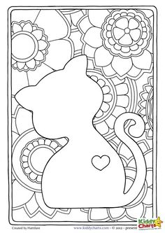 fat cat coloring pages.html