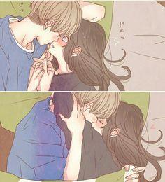 (✿ ✿。 ✿ ✿) - Anime hug - - ♡ o 。. Cute Couple Drawings, Anime Couples Drawings, Anime Couples Manga, Manga Anime, Couple Sketch, Anime Couples Hugging, Couple Hugging, Cute Anime Coupes, Comics Anime
