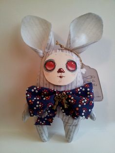 "Hand made Bunndoll ""The Ribbon"""